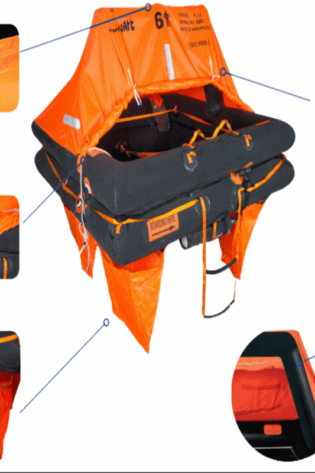 Pro-Light Coastal in Valise or Container, 6 Person - US Marine Supply LLC