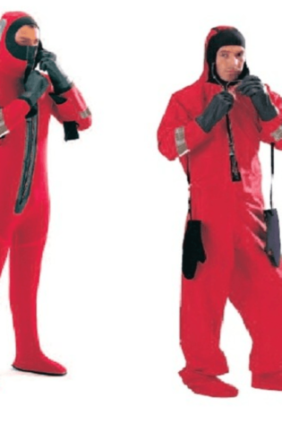 Immersion Suit Interpid MK2 Non-Insulated, Datrex SOLAS/MED Oversized Only - US Marine Supply LLC